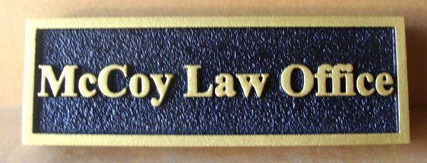 A10147 - Law Office Door Sign