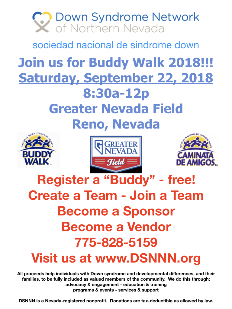 Buddy Walk 2018!