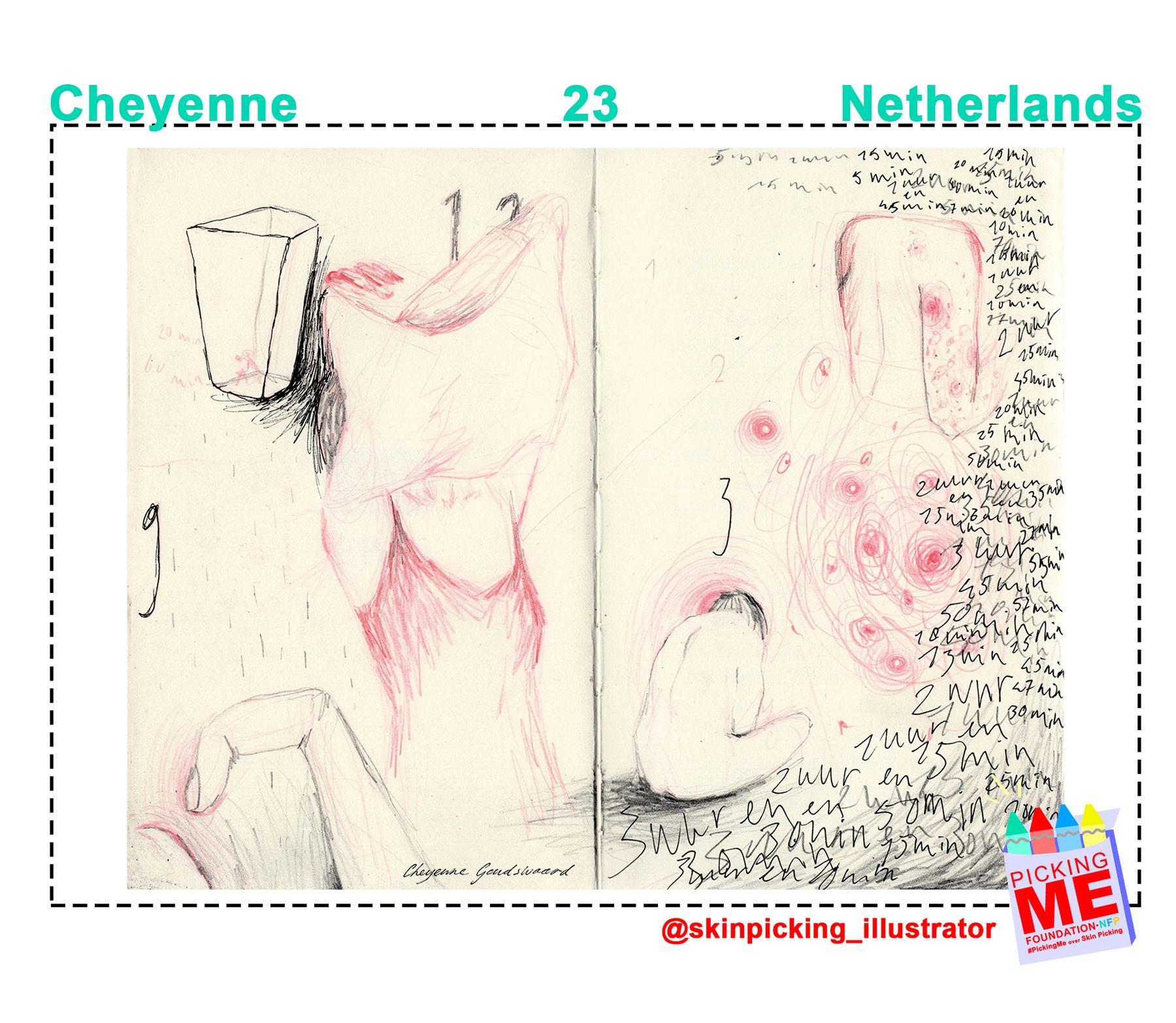 #DrawingWithDerma: Cheyenne