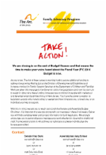 5.11.15 We Need You to Act Now! FY16 NJ Budget (Closed - No Longer Requires Action)
