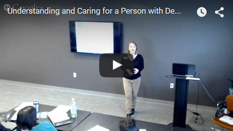 Understanding and Caring for Dementia - Video
