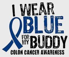 Wear Blue Tomorrow! Colon Cancer Screening Awareness