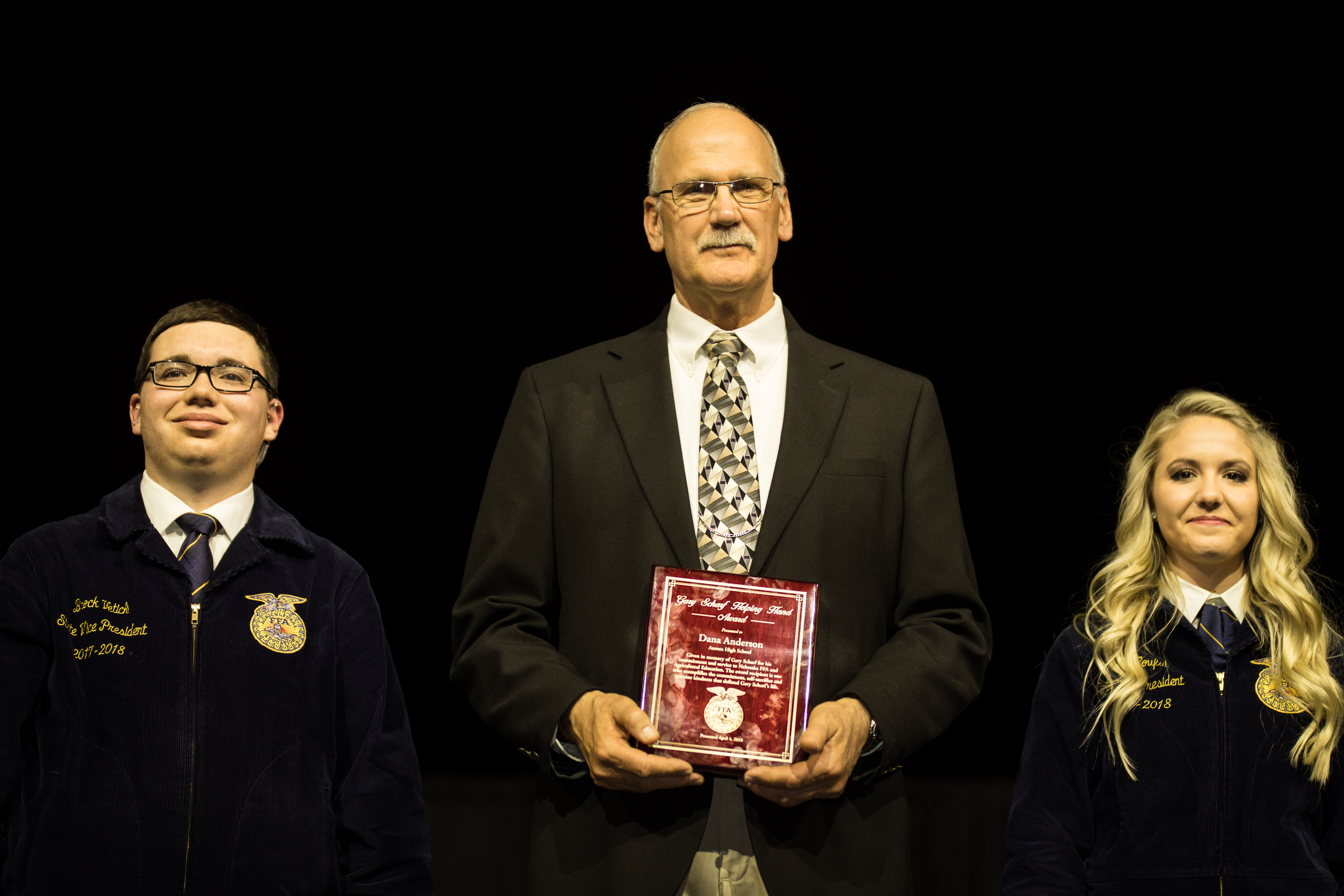Anderson Recognized for Support to Aurora Community and School