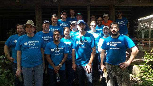CenterPoint Energy Workday at Edith Moore