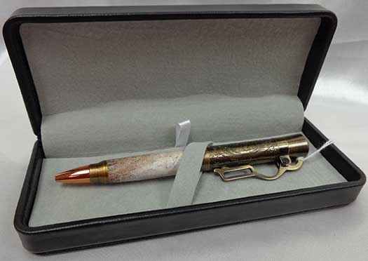 Pen - Brass Lever Action (2 Styles)