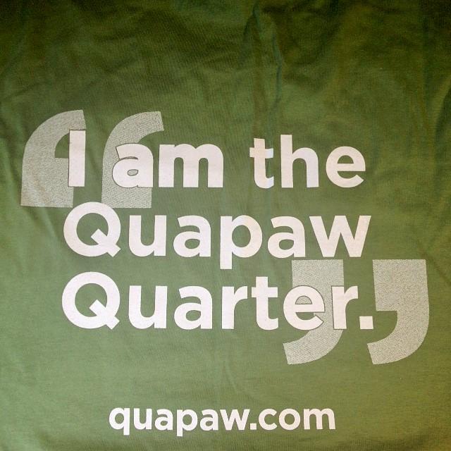 Quapaw Quarter T Shirt