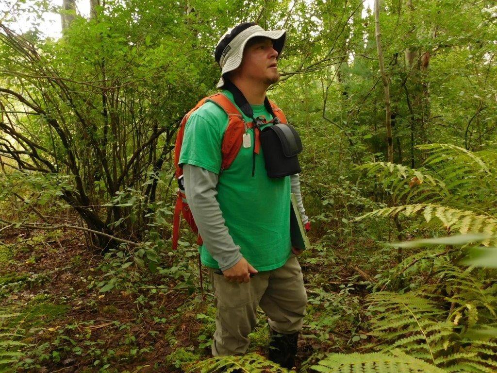 Kyle Hess at Cardi Swamp