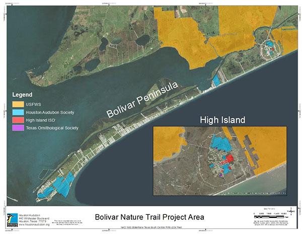 Bolivar Nature Trail Project Area