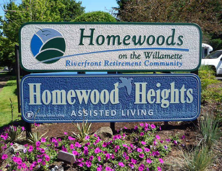 Homewood Monument Sign