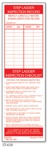 Step Ladder Inspection Record