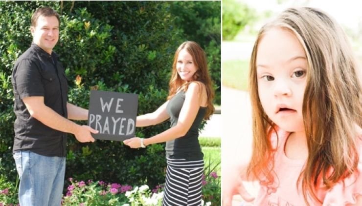 Mom Rejects Doctor's Suggestion to Have Abortion Just Because Her Daughter Has Down Syndrome