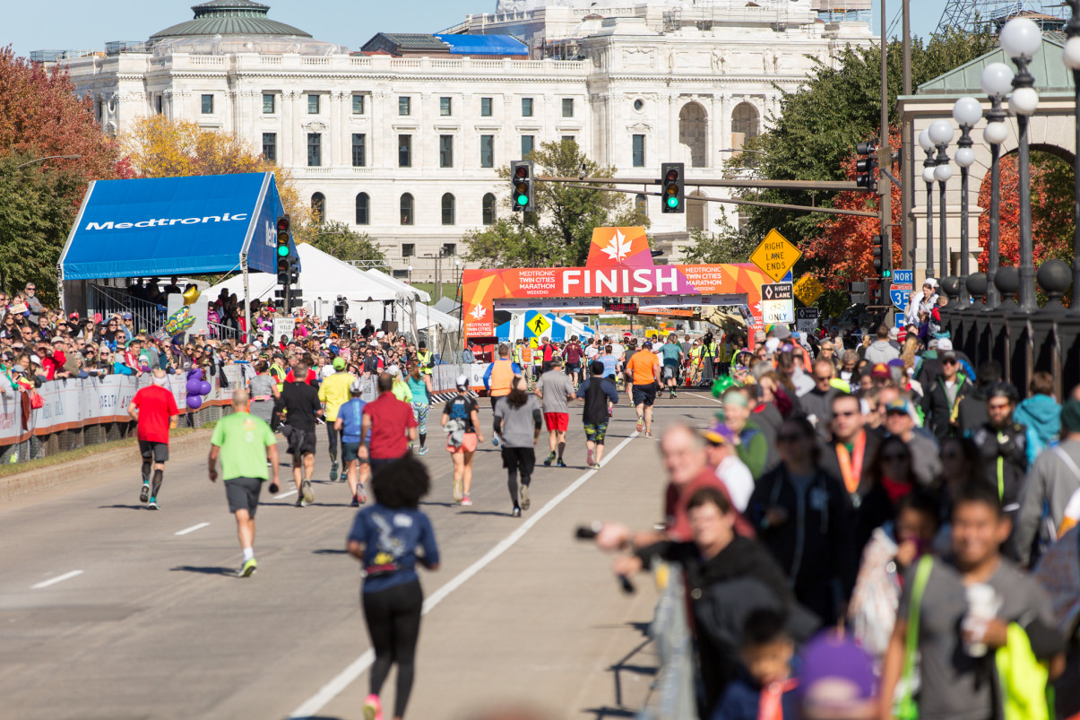 Run for Children's Literacy at Twin Cities Medtronic Marathon