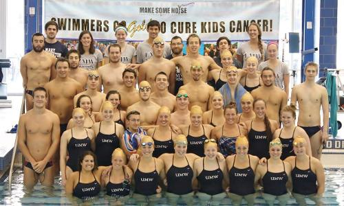 Mary Washington Swimmers Go Gold!
