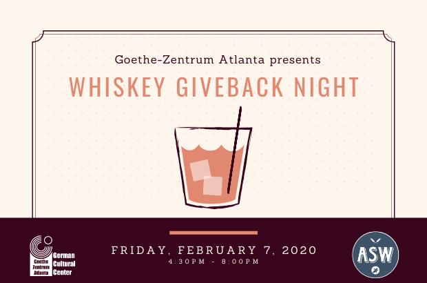 Whiskey Giveback Night @ ASW