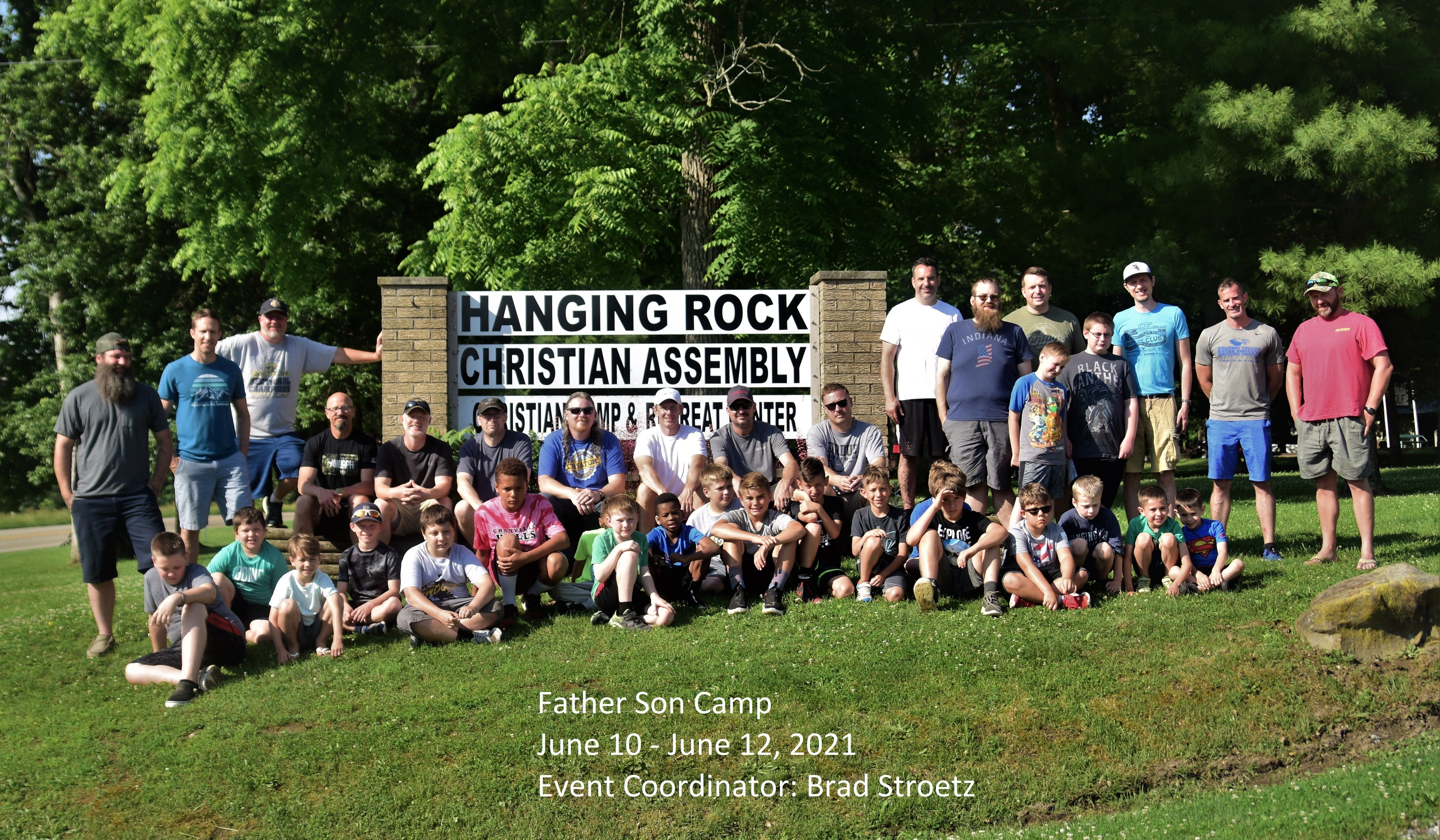 Father/Son Camp