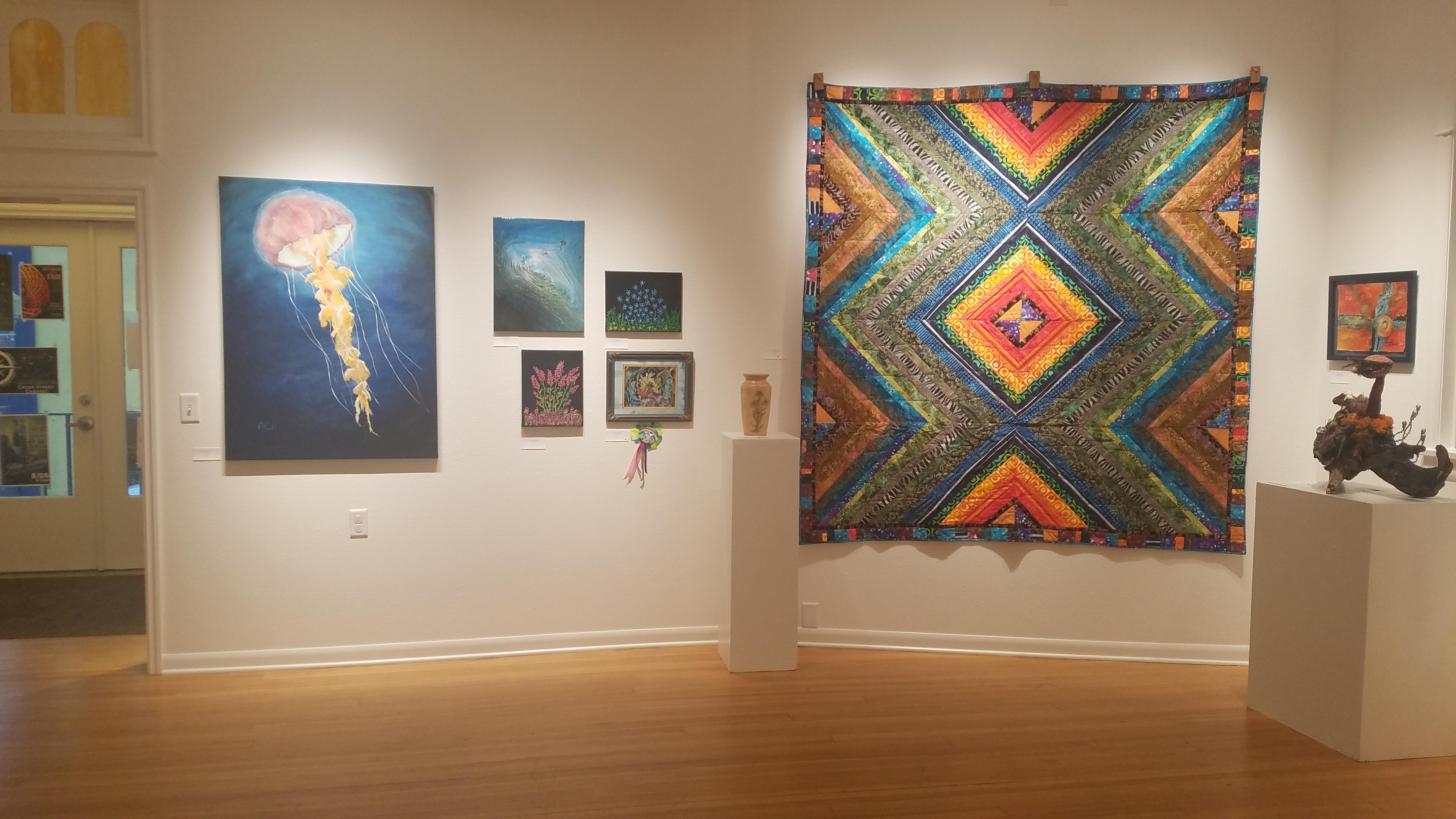 "Opening Reception - ""Blueberry Arts Festival Art Exhibit"""