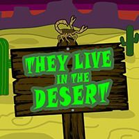 Register for May 4 class: They Live in the Desert
