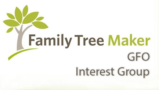gfo family tree maker genealogy special interest group