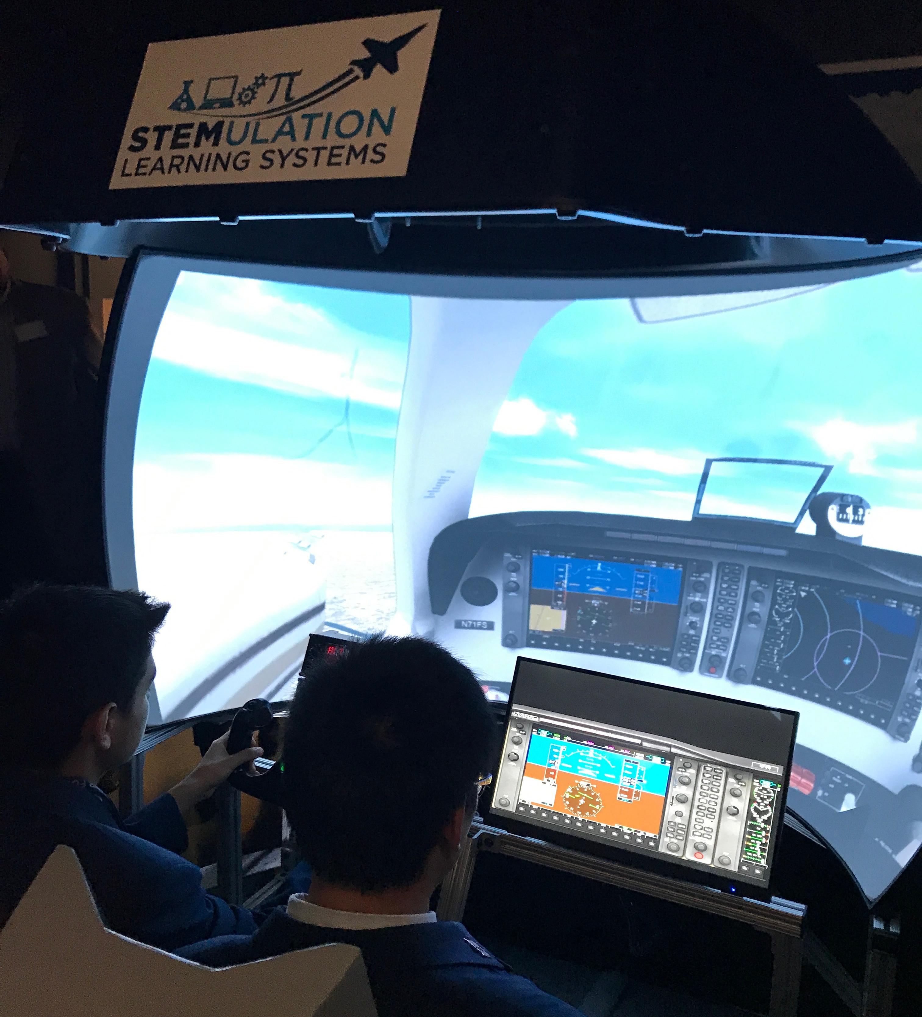 Air Force Academy Flight Simulation Lab