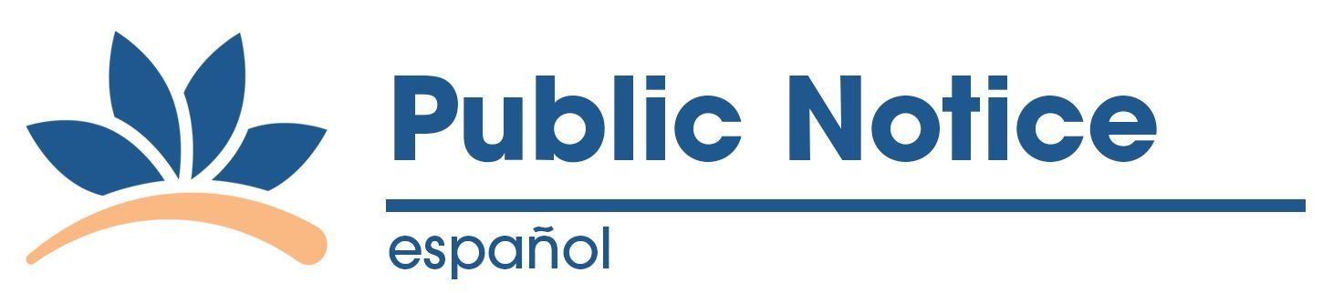 Title VI Plan Public Notice - Spanish