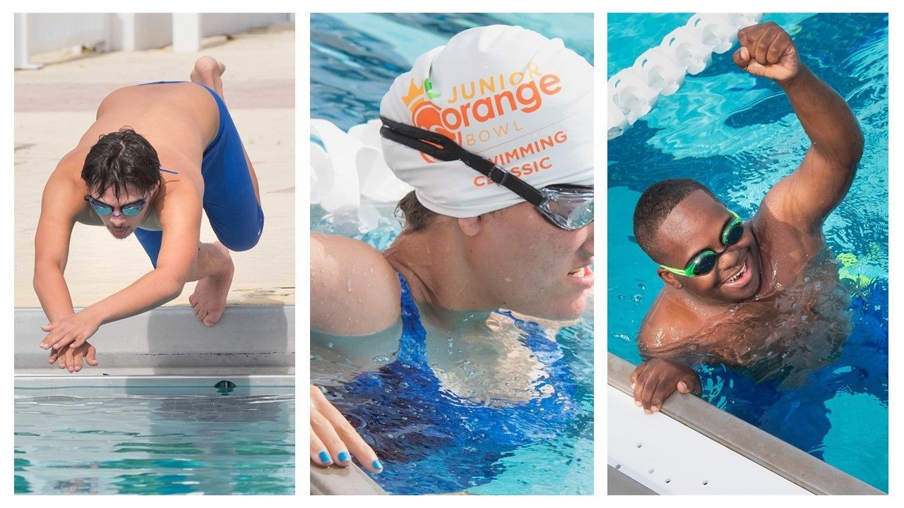 Adaptive Swimmers take the Plunge in the 2021 Swimming Classic