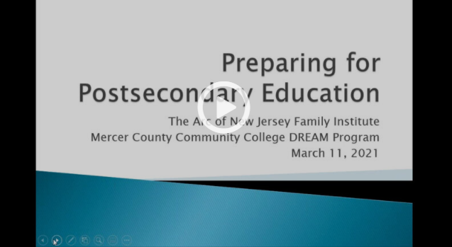 Preparing for Postsecondary Education Programs