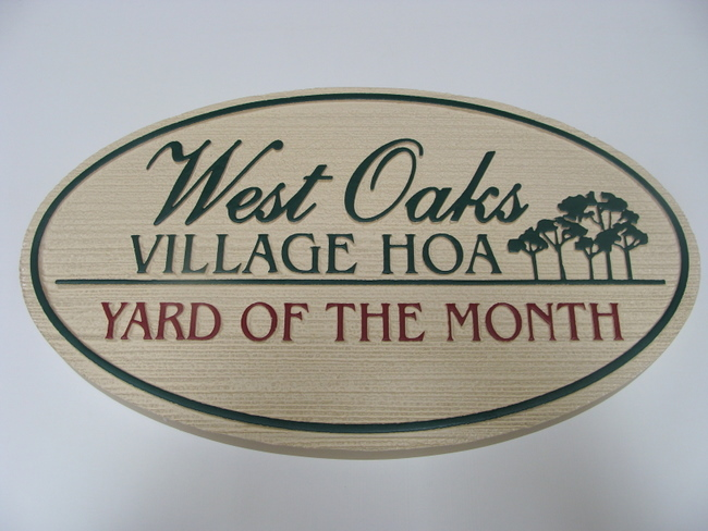 M1013 - Yard-of-the-Month Sign (Gallery 19B)