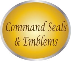 LP1500 - Carved Plaques of the Seals of the Major Commands of the US Air Force