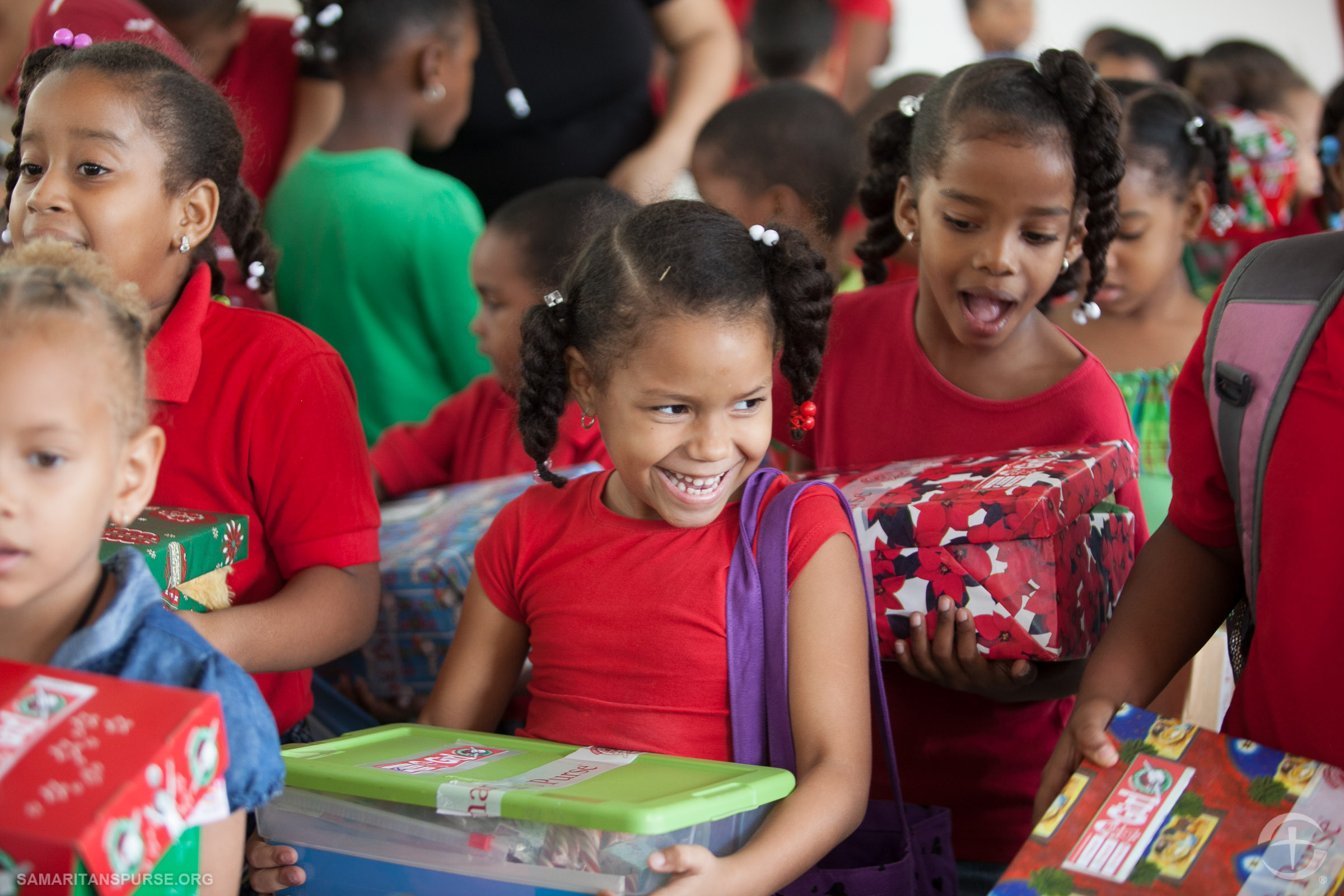 Operation Christmas Child Celebrates 13th Year at WBSC