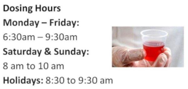 Dosing Hours