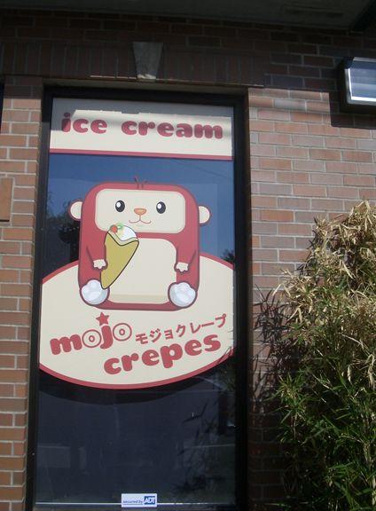 Mojo Crepes Window Graphics 3