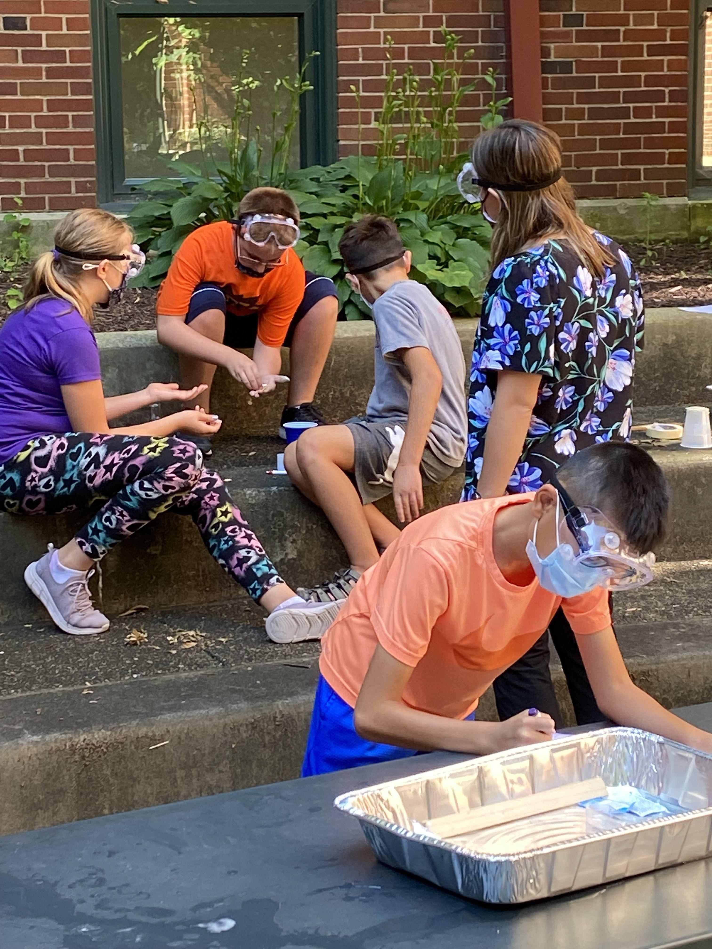 Students Conduct Experiments at OLSH