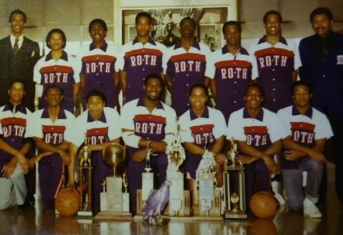 Dayton Roth High School Boys, 1982 State Champs