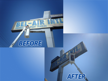 Outdoor Signage Refurbish