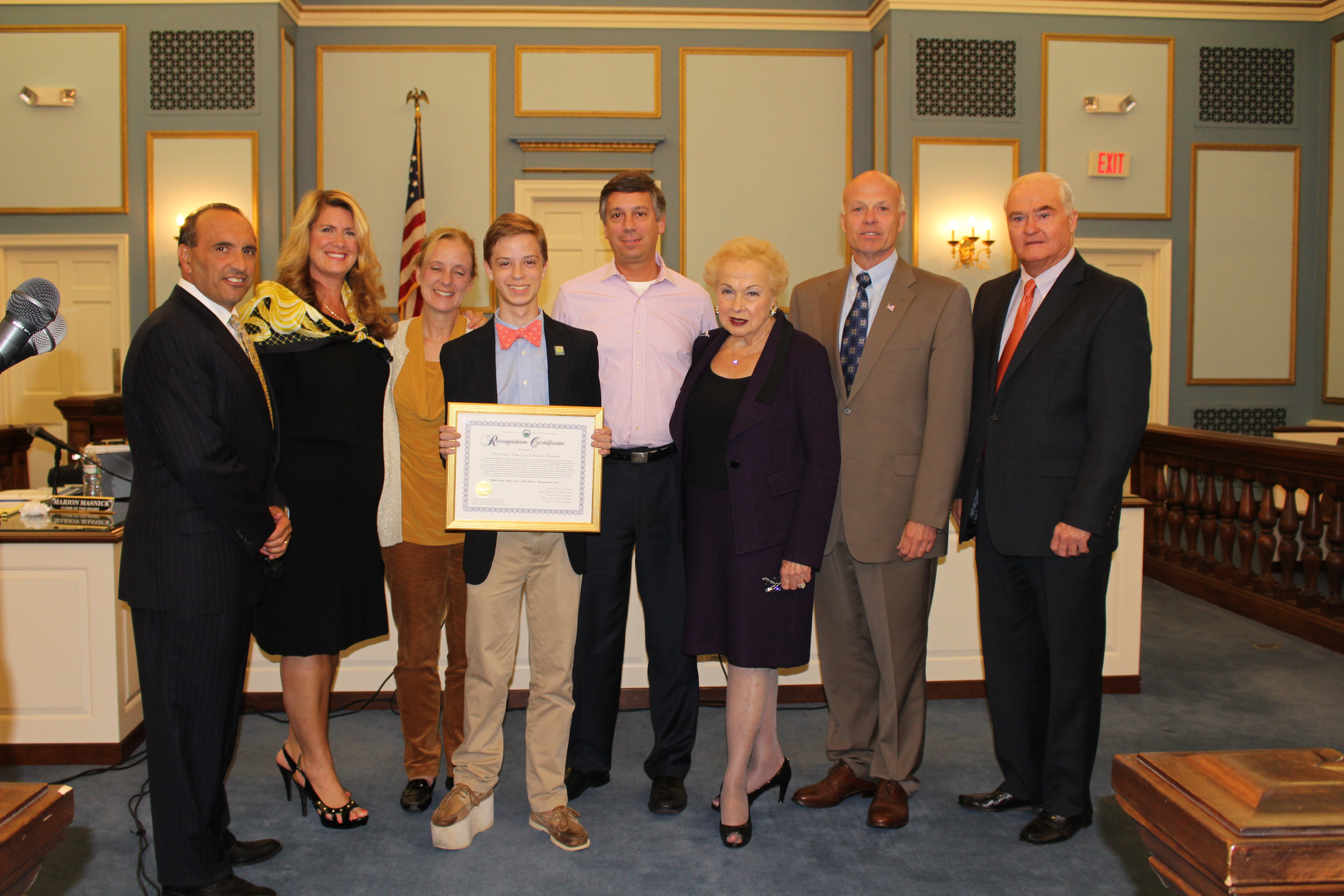 Freeholders Recognition