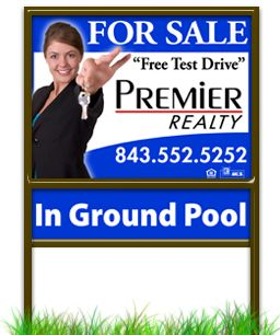 Real Estate Sign 7
