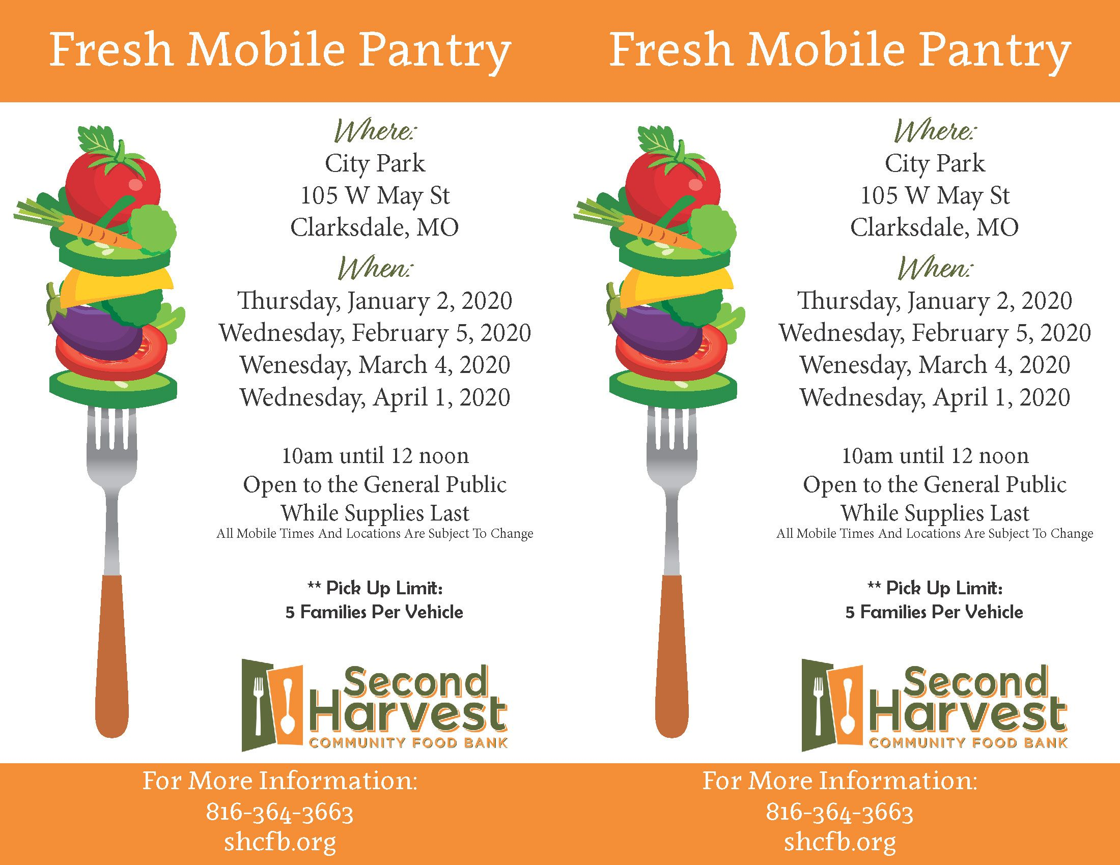 Clarksdale Fresh Mobile Pantry