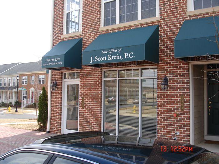 J. Scott Krein Storefront Sign