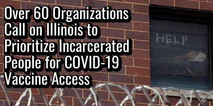 Jail, Prison Populations Must be Among First to Get COVID-19 Vaccine: Advocacy Groups