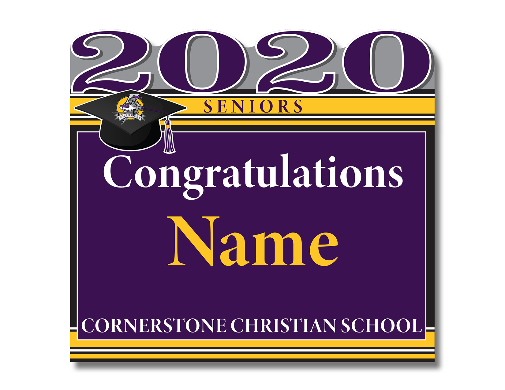 Cornerstone Senior 2020 Yard Signs