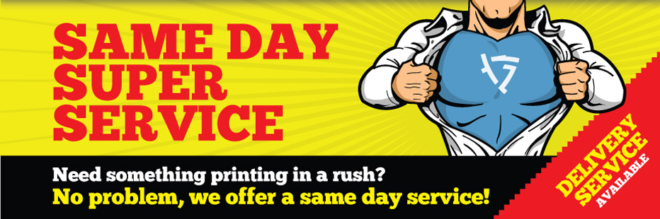 Rush-Same Day Printing Service