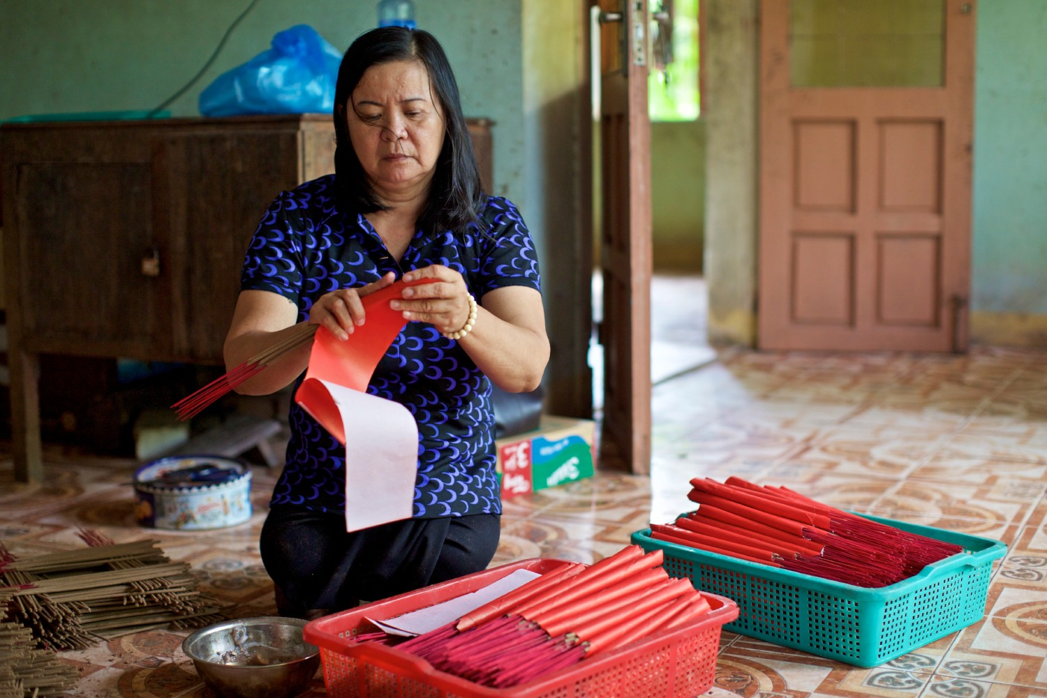 In Vietnam, people are still being killed by the weapons of war