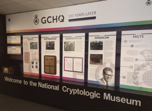 New NCM Exhibit Celebrates GCHQ's 100th Anniversary