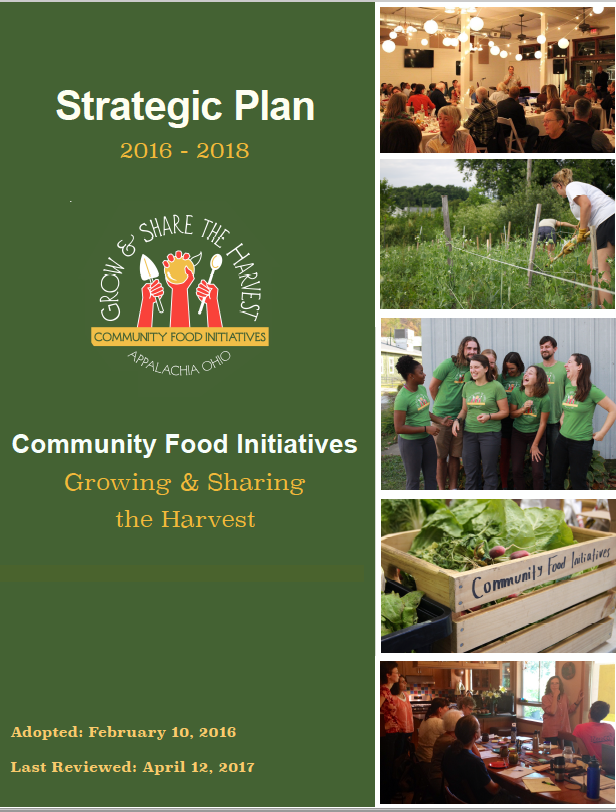 2016-2018 Strategic Plan
