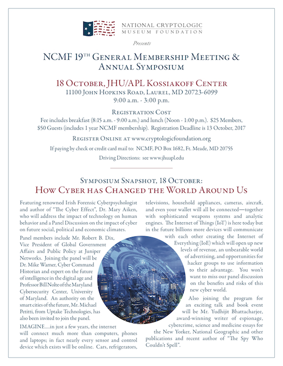<b>NCMF 2017 Membership Meeting & Annual Symposium</b>