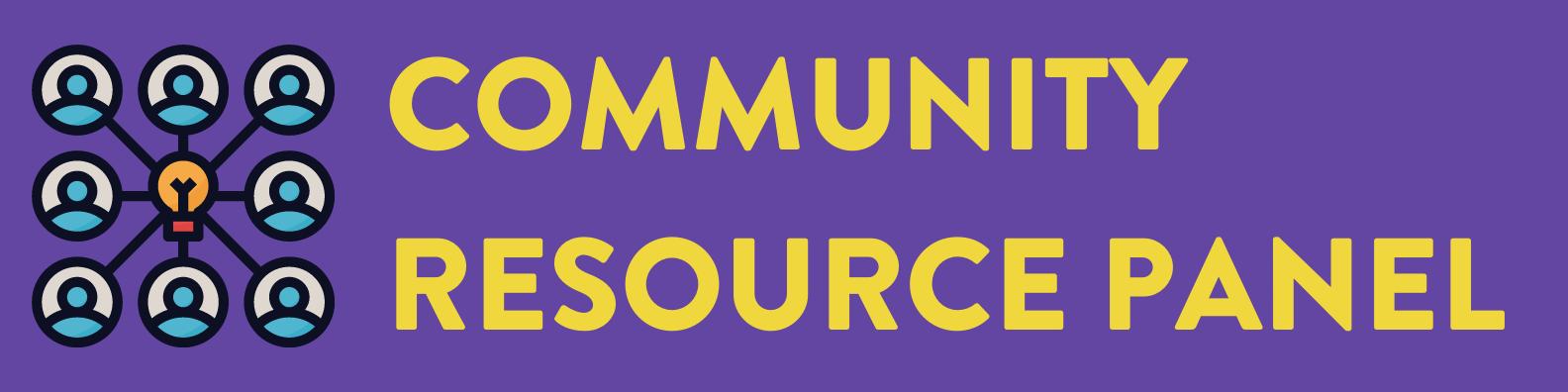 Community Resource Panel