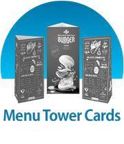 Menu Tower Cards