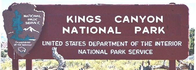 G16000 - Carved Cedar National Park Entrance Sign