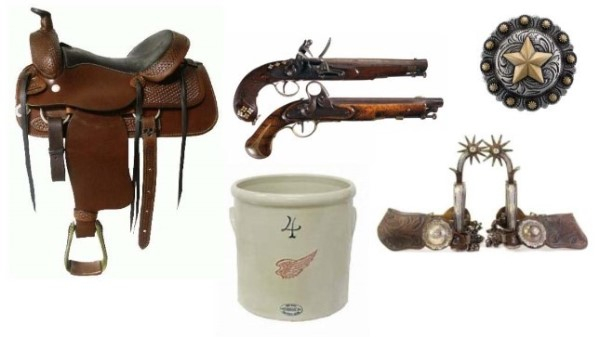 Western Collectibles Auction Flyer