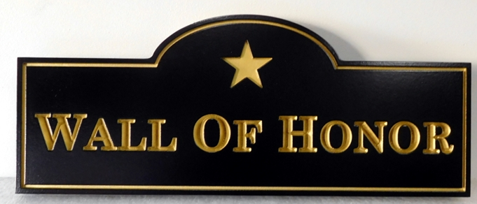 "IP-1980 - Plaque for POW-MIA's ""Wall of Honor"", Artist Painted"